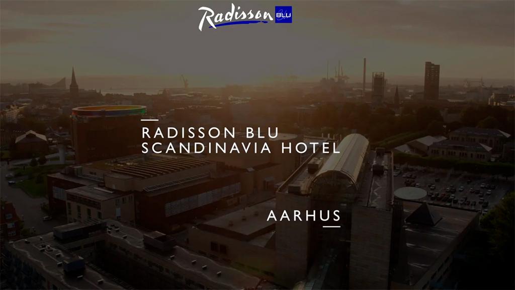 Tag på virtuelt møde på Radisson Scandinavia Hotel Aarhus